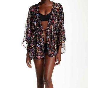 L*Space Liberty Love Silk Kimono